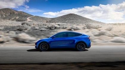 El Modelo Y tiene una capacidad para siete personas (Foto: Tesla vía Reuters)