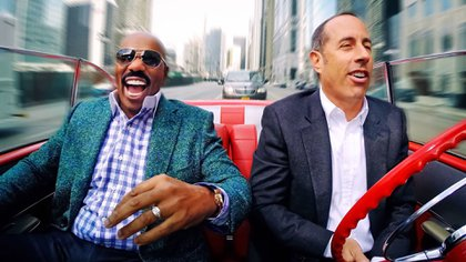 """""""Comedians in cars getting coffee"""""""