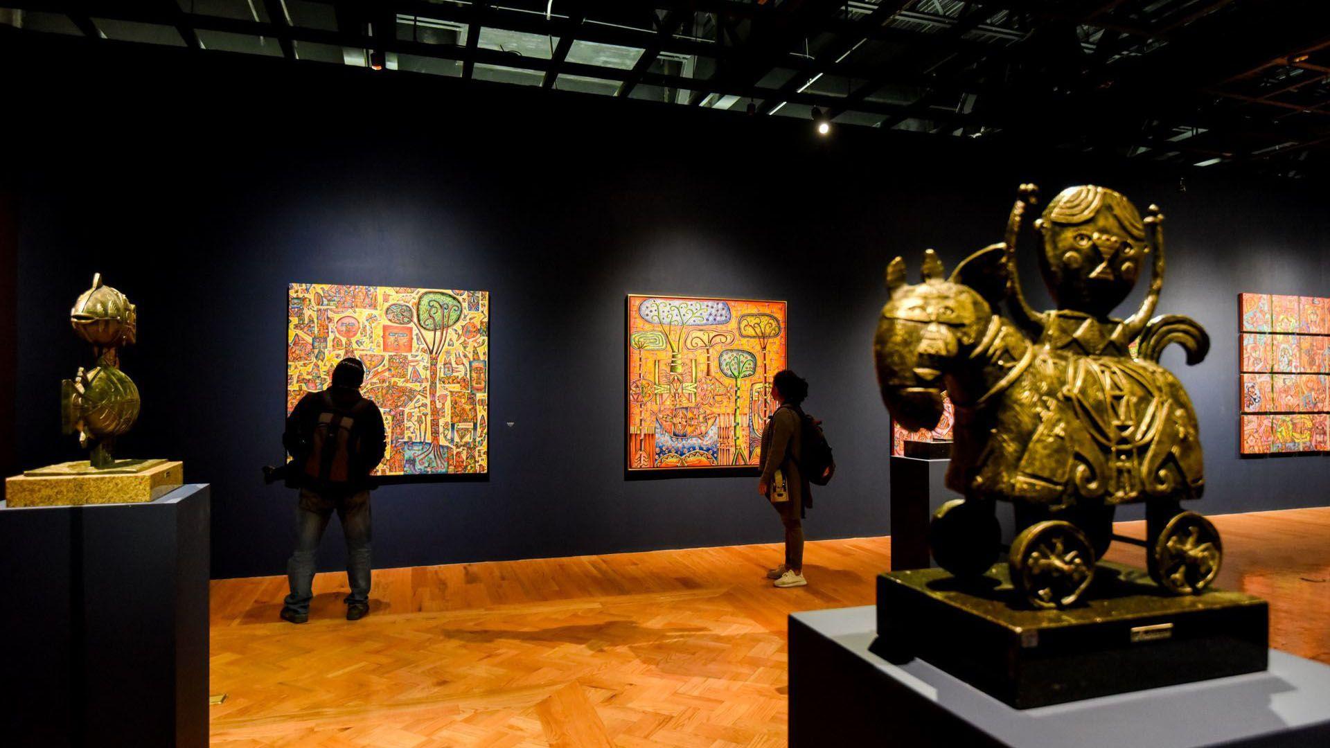 Se debe de mantener la sanadistacia dentro del museo entre los asistentes (Foto: Cuartoscuro)