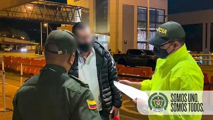 """Álex Fernando, alias el """"Mexicano"""" y/o """"Marichi"""" fue detenido en Colombia. Tenía nexos con cárteles colombianos y mexicanos (Foto: Policía Nacional Colombia)"""