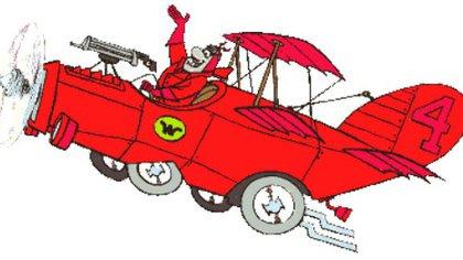 ¿Es un auto? ¿Es un avión? No, es el barón Hans Fritz piloteando el Stuka Rakuda