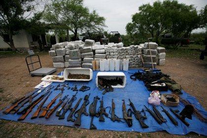 Las armas incautadas en México provienen en su mayoría de EEUU donde es fácil adquirirlas (Foto: REUTERS/Tom�s Bravo)