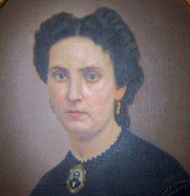 Retrato  de Felicitas Guerrero  de Alzaga,  la protagonista  de la historia.