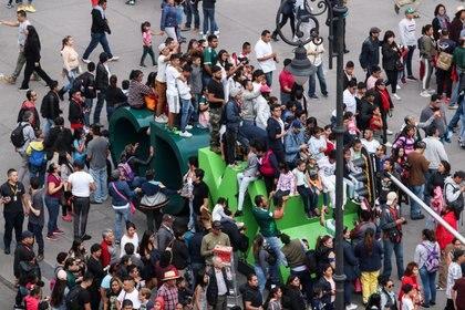 Se busca evitar aglomeraciones para prevenir contagios de COVID-19 (FOTO: GALO CAÑAS/Cuartoscuro)