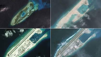 China instaló misiles antiaéreos y antibuques en tres islas ...
