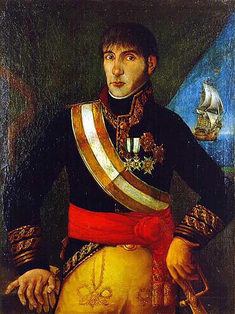 El 20 de mayo de 1810, en su residencia en el Fuerte, Cisneros recibió a los jefes militares con extrema amabilidad