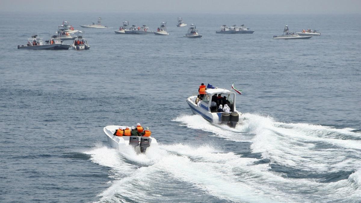 """El régimen de Irán derribó un dron """"extranjero"""" en la costa del golfo Pérsico"""