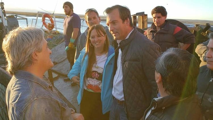 Martín Soria con su candidata a vice, Magdalena Odarda, ex Coalición Cívica (@SoriaEnAccion)