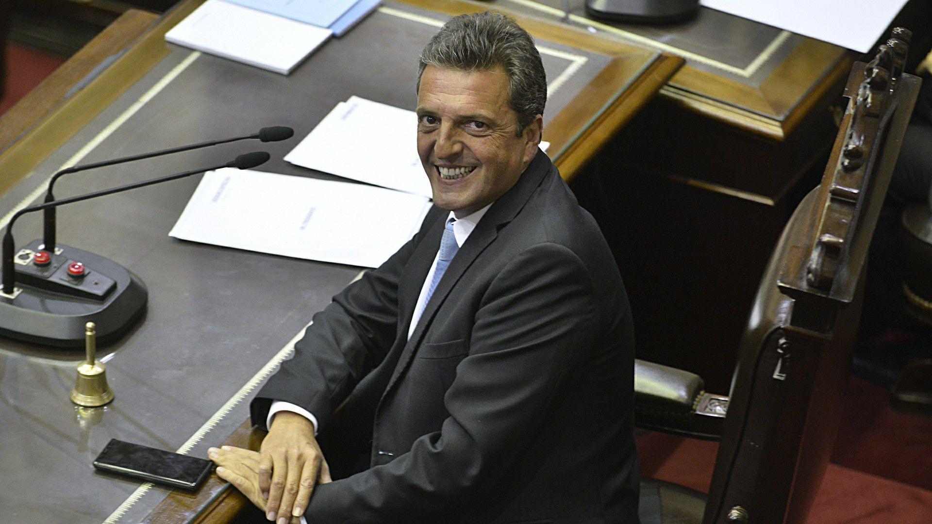 Sergio Massa, presidente de la Cámara de Diputados de la Nación (Gustavo Gavotti)