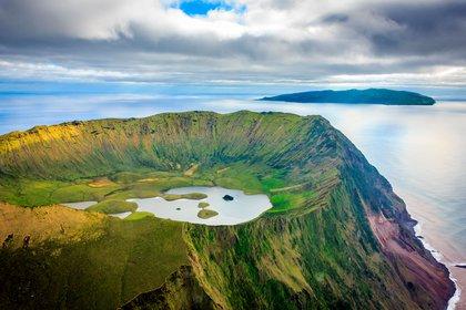 La UNESCO considera Patrimonio Mundial el Centro Histórico de Angra do Heroísmo, en la isla de Terceira desde 1983, y el Paisaje Vitivinícola de la isla de Pico desde 2004 (Shutterstock)