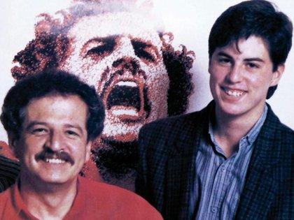 Juan Manuel Galán y su padre, Luis Carlos Galán. Foto: @juanmanuelgalan