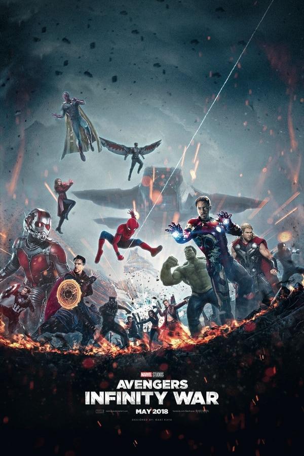 Avengers: Infinity War unirá a todos los superhéroes de Marvel en una sola película.