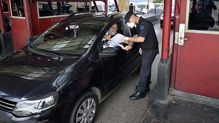 También habrá protocolos de seguridad para controlar que la gente que esté circulando cuente con el permiso correspondiente. (Gustavo Gavotti)