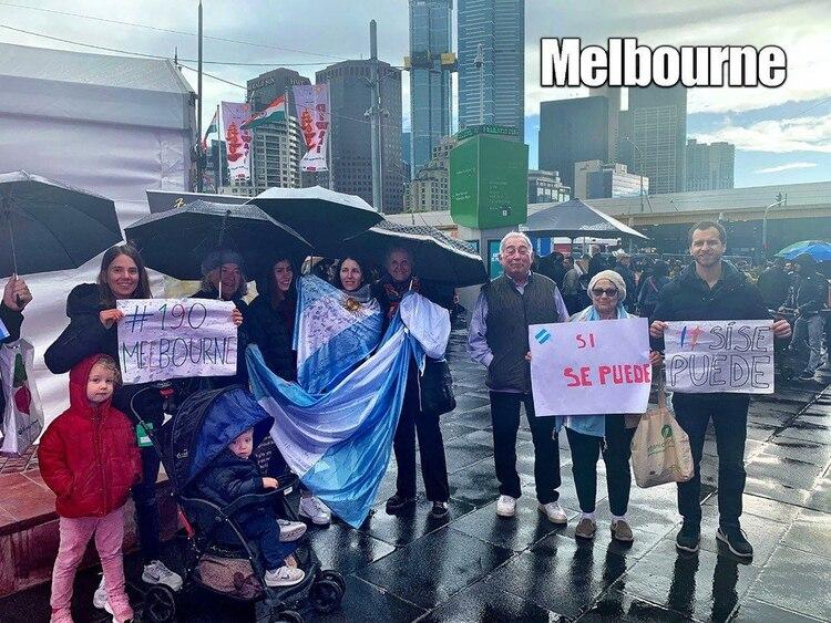 Argentinos en Melbourne
