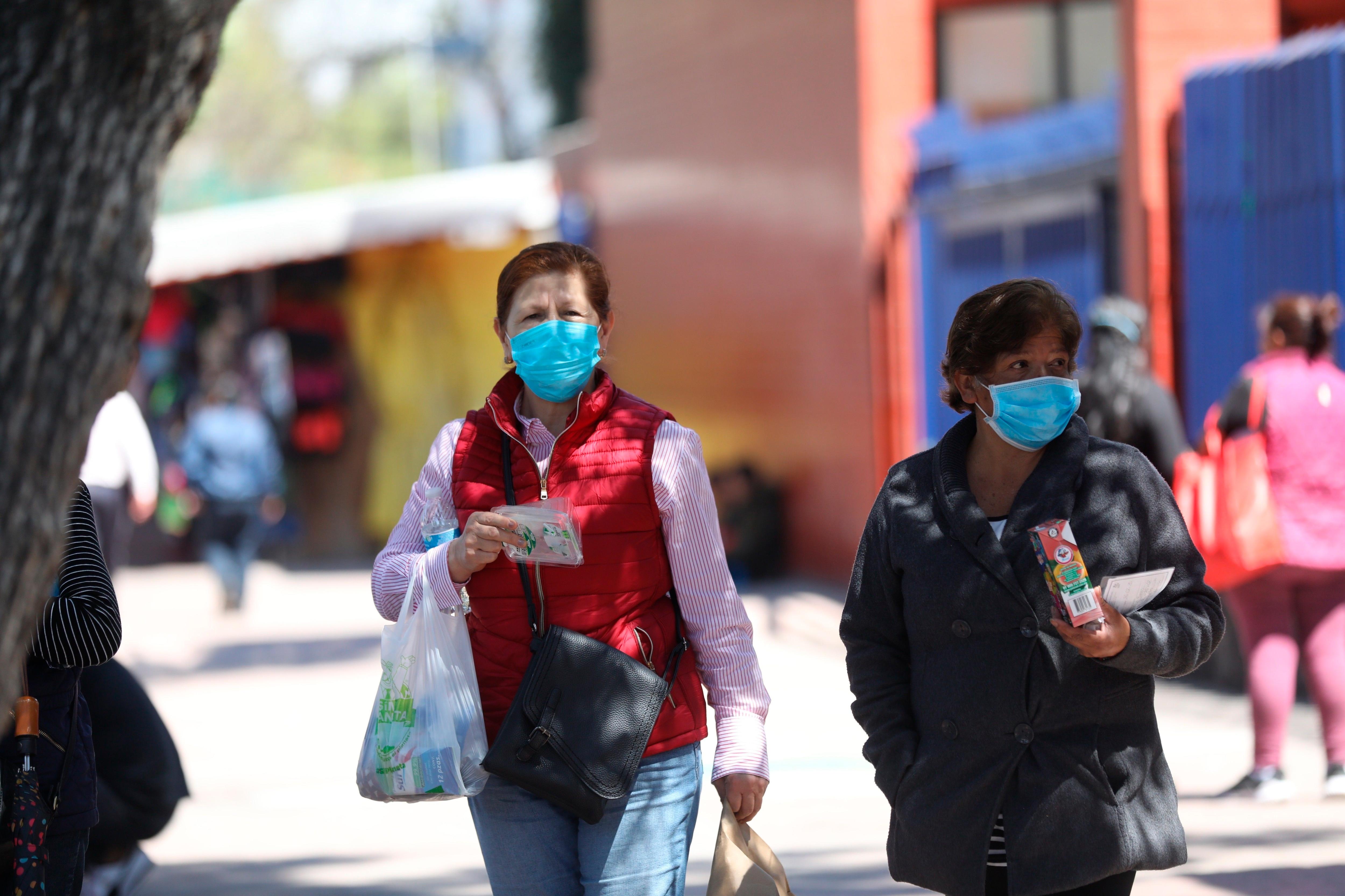 En México se confirmaron 983,791 contagios acumulados de coronavirus hasta el 17 de octubre de 2020 (Foto: EFE/ Sáshenka Gutiérrez)