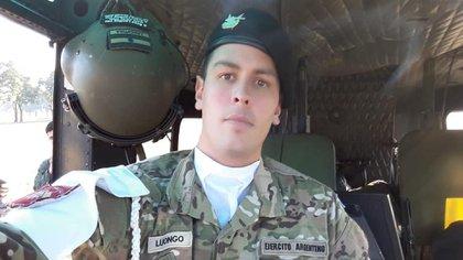 Luongo es integrante del Ejército Argentino al igual que toda su familia