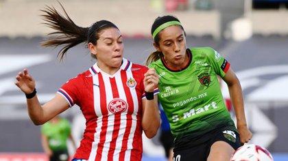 Jugadoras de la Liga MX Femenil hacen tendencia #JuegoComoBarbie (Foto: Cortesía/ Bravas de Juárez)