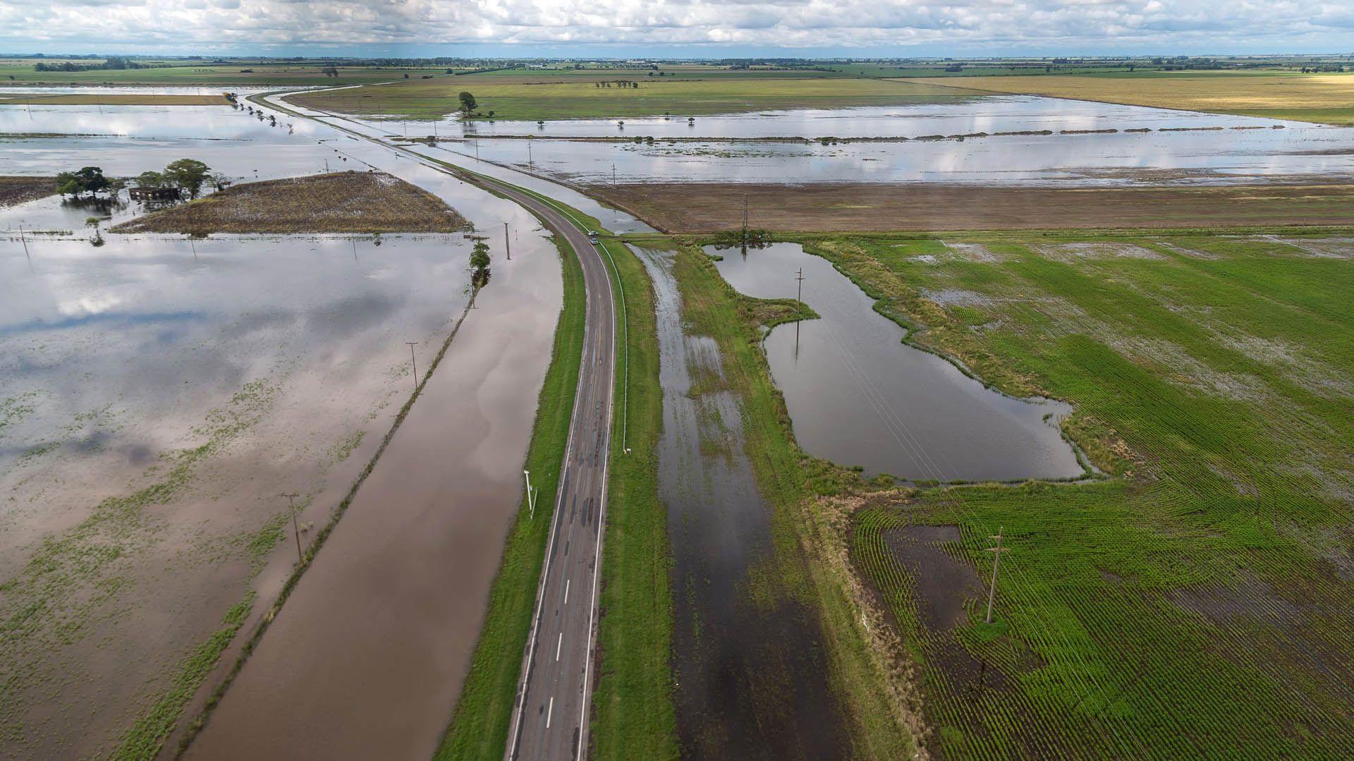 Está en marcha la canalización del Canal San Antonio en el límite entre Santa Fe y Córdoba para evitar inundaciones