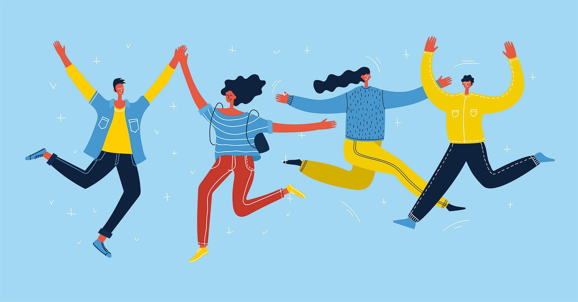 Hay 30 veces más posibilidades de reírse si la persona se encuentra rodeada con otras personas que si se encuentra totalmente solo