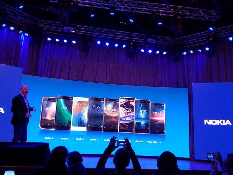 7ccb6fb4729 Nokia desembarca con tres modelos pero planea lanzar todo su portafolio de  productos en los próximos