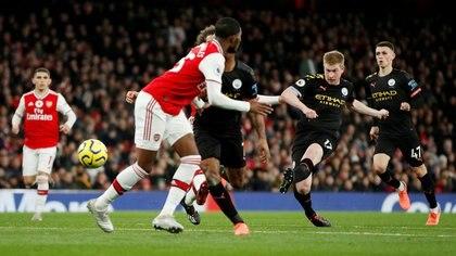 Se suspendió el duelo entre Manchester City-Arsenal (Reuters/John Sibley)