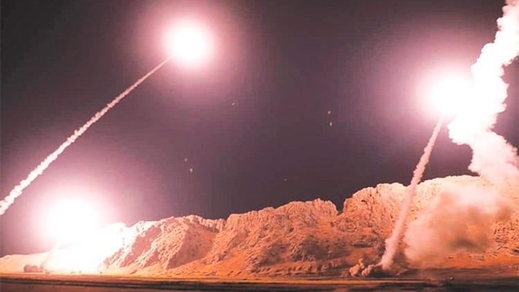 Irán atacó posiciones de EEUU en Irak