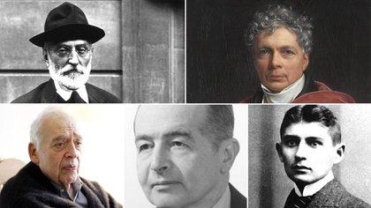 iguel de Unamuno, Erich Auerbach, Friedrich Schelling, Harold Bloom  y Franz Kafka