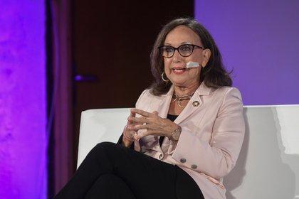 La secretaria general de la Secretaría General Iberoamericana, Rebeca Grynspan. EFE / PABLO MARTIN/Archivo