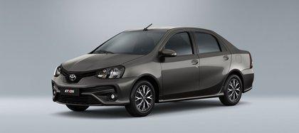 A medida que pasan los años, el Toyota Etios sigue creciendo (Toyota)