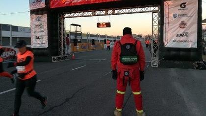 Las carreras de running cuentan con asistencia especial para evitar episodios cardíacos