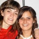 Lucila Frend y su amiga Solange Grabenheimer, asesinada hace 11 años atrás