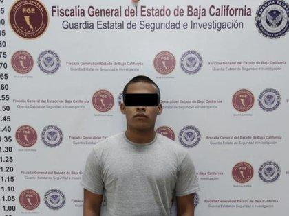 Julio César N, objetivo prioritario en Baja California, fue aprehendido en la ciudad de Tijuana (Foto: Facebook / Procuraduría General de la República del Estado de Baja California)