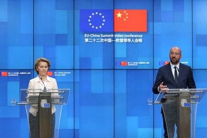 Ursula von der Leyen y Charles Michel, líderes ejecutivos de la UE (Reuters)