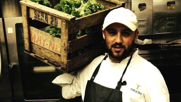 Dante Liporace, a cargo de la cocina de la Casa Rosada durante el macrismo (facebook)