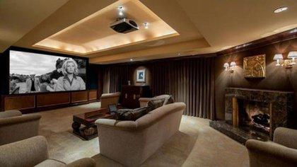 La sala de cine de la casa (Gentileza expansión)