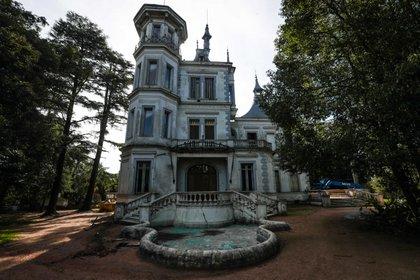 Fotografía del 31 de julio de 2020 de la fachada del Castillo Idiarte Borda, ubicado en Montevideo (Uruguay). EFE/ Federico Anfitti