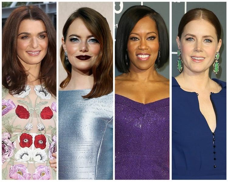 Rachel Weisz, Emma Stone, Regina King y Amy Adams nominadas en el rubro Mejor actriz de reparto