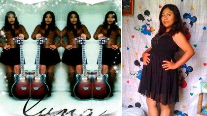 Edith Aparicio es conocida por cantar en eventos sociales, en Tlaxiaco, Oaxaca. (Foto: Facebook Luna Edith Aparicio)