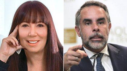 María Jimena Duzán y Armando Benedetti confrontaron en Twitter. Collage: Infobae.