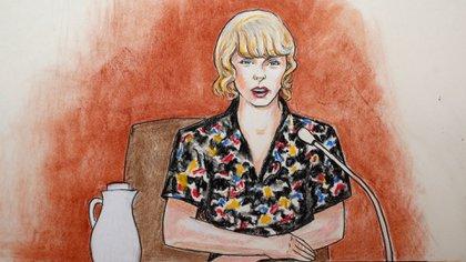 Swift dijo al jurado que el acosador y su novia parecían estar intoxicados (Foto: AP)