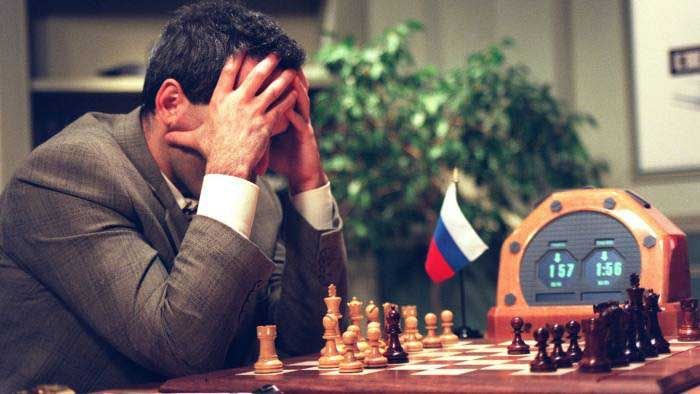 Garry Kasparov - deep Blue