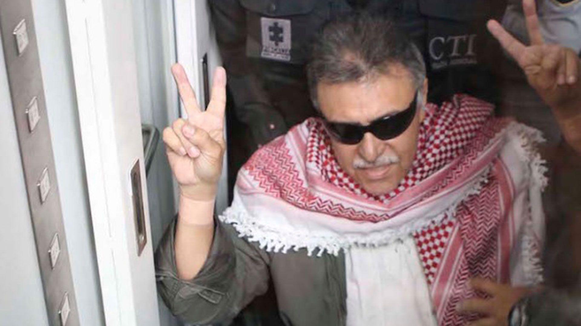 Jesús Santrich, el ex lider de las FARC prófugo