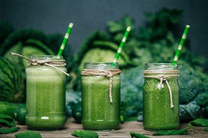 Los smoothies y jugos detox son los más consumidos (Getty Images)