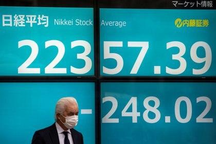 La bolsa de Tokio (Reuters)