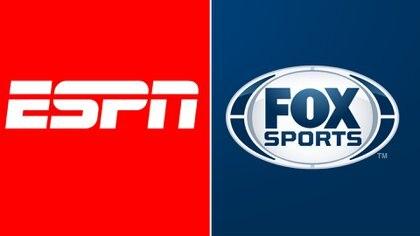 Los logos de las dos señales deportivas