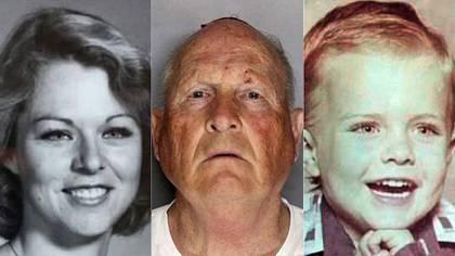 Rhonda Wicht, Joseph DeAngelo, más conocido como el Golden State Killer y Donald Wicht, de apenas cuatro años cuando fue asesinado