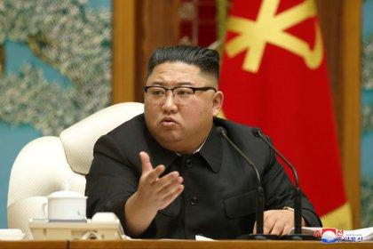 Kim Jong-un.       KCNA via REUTERS