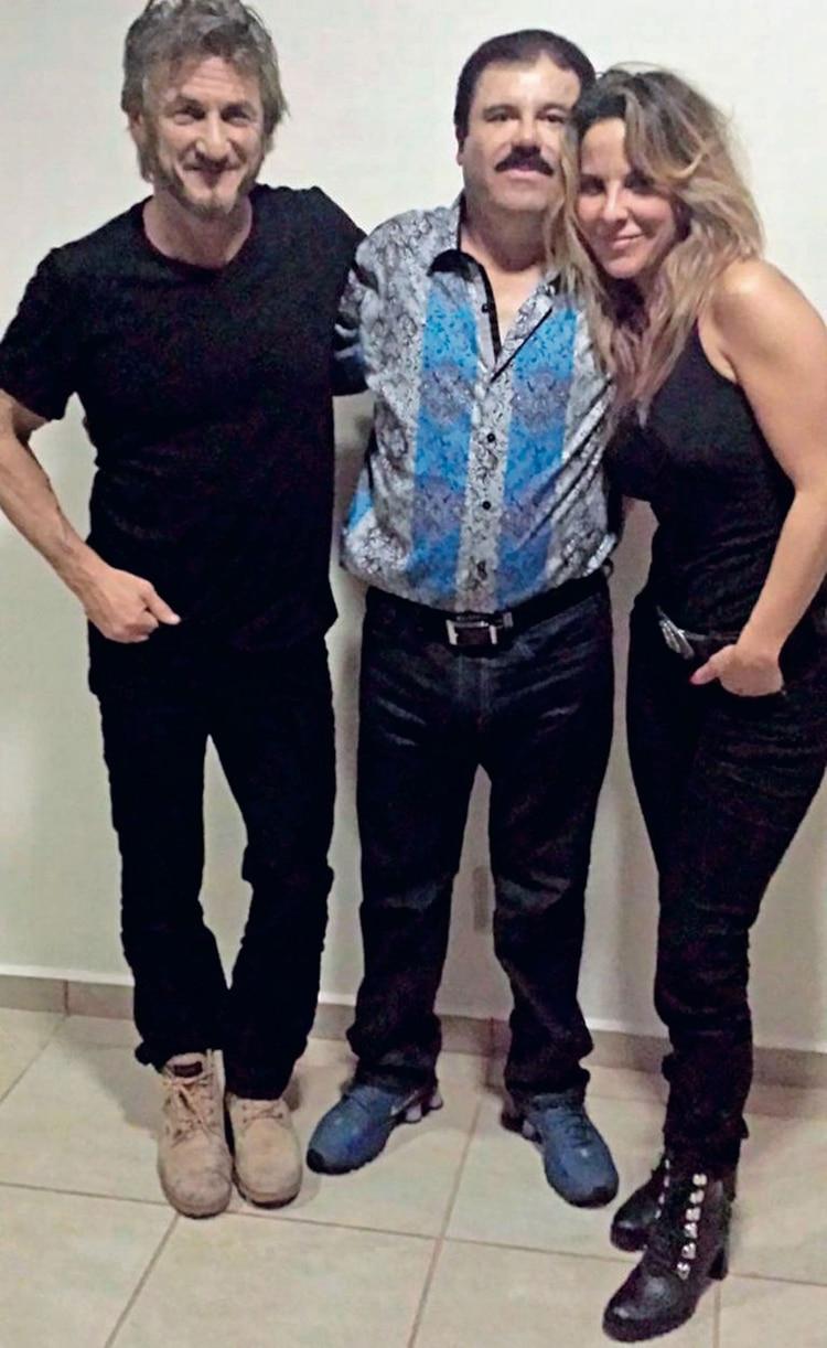 Sean Penn, El Chapo y Kate