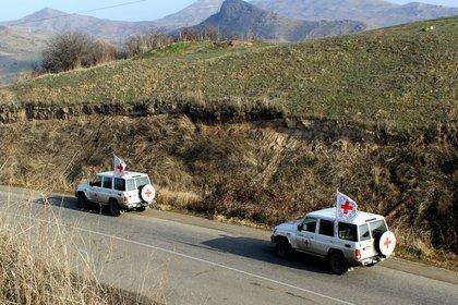 27/09/2020 Misión del Comité Internacional de la Cruz Roja (CICR) en Nagorno-Karabaj POLITICA AZERBAIYÁN ARMENIA CICR