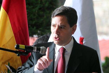 El presidente del Tribunal Supremo Electoral (TSE) de Bolivia, Salvador Romero